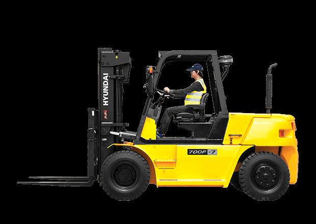 Hyundai Forklift 70DF-7
